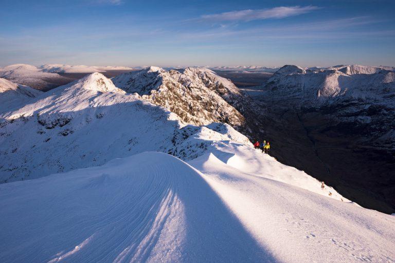 Aonach Eagach Ridge, Glencoe by Photographer Ed Smith