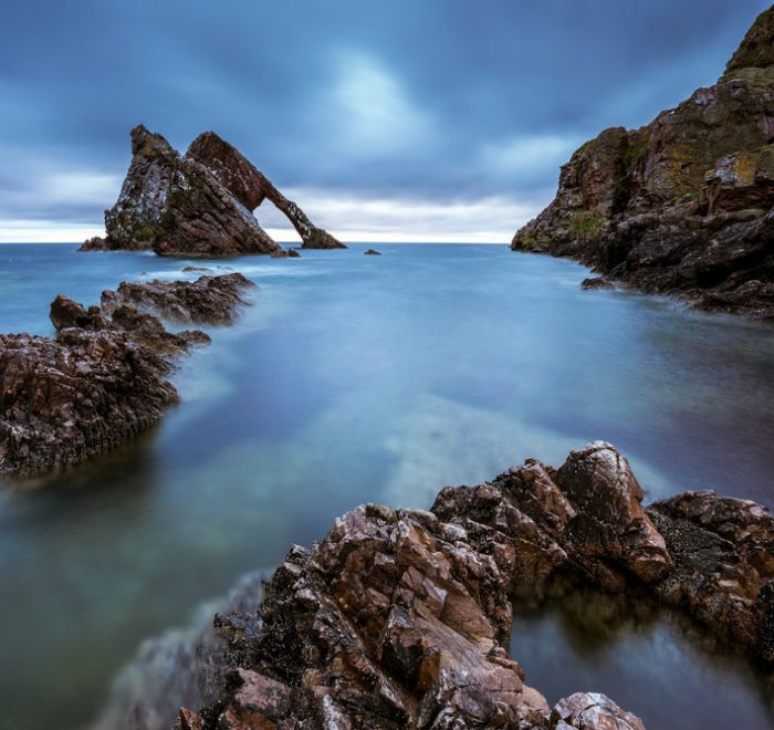 Bow Fiddle Rock by Photographer Ed Smith
