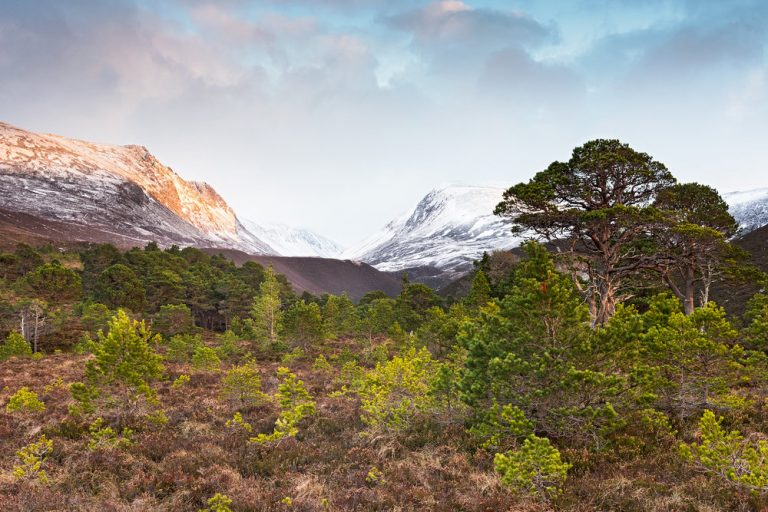 The Lairig Ghru by Photographer Ed Smith