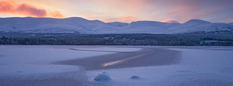 Loch Morlich by Photographer Ed Smith
