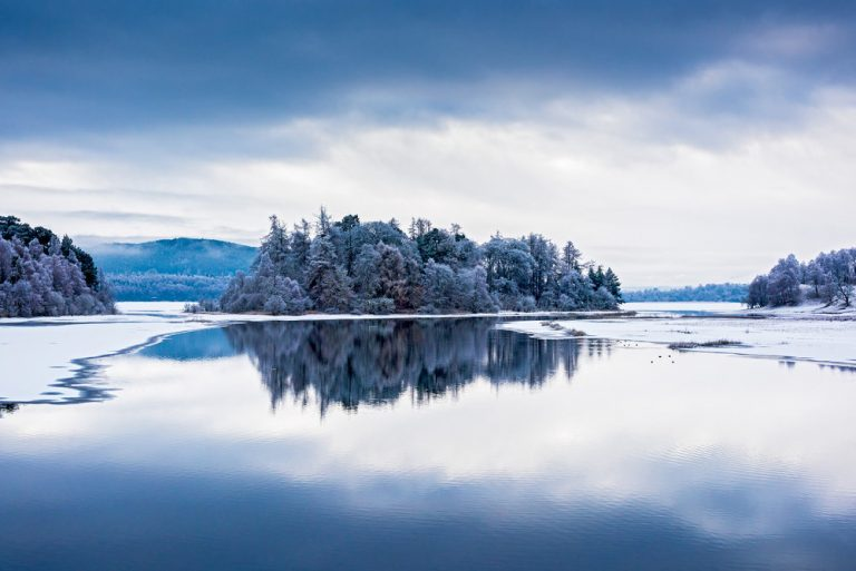 Loch Insh & River Spey by Photographer Ed Smith